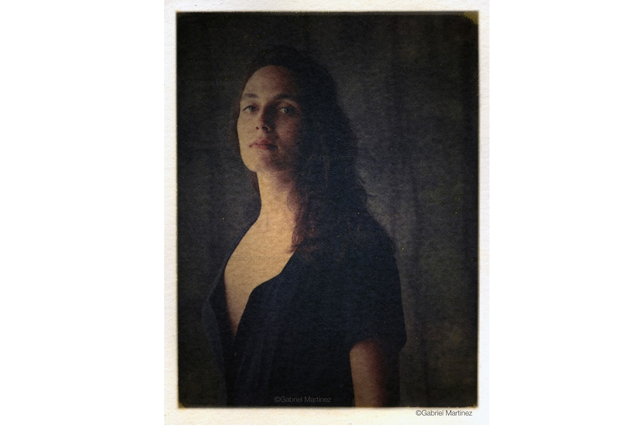 portrait polaroid gabriel martinez